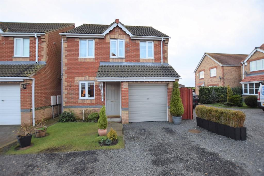 3 Bedrooms Detached House for sale in The Croft, Greencroft, Stanley