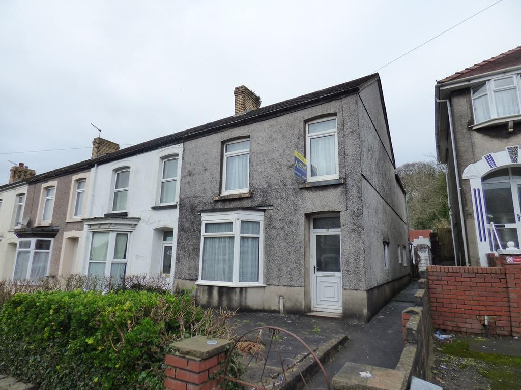 3 Bedrooms End Of Terrace House for sale in Ravenhill Road, Ravenhill, Swansea, SA5