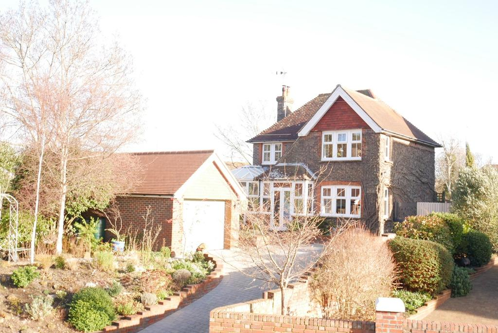 4 Bedrooms Detached House for sale in Coopers Hill, Willingdon Village, Eastbourne, BN20