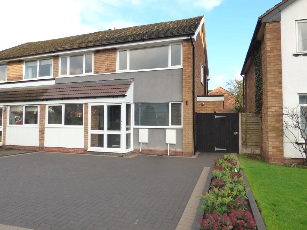3 Bedrooms Semi Detached House for sale in Pinfold Road, Lichfield