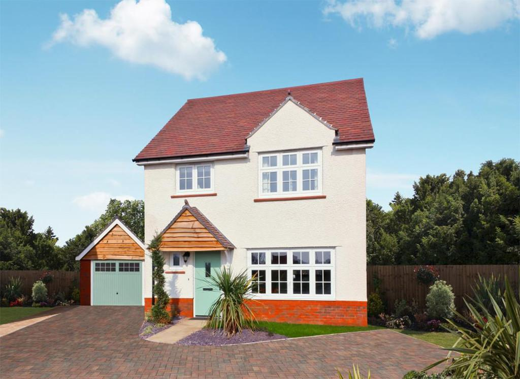 4 Bedrooms Detached House for sale in Plot 61 The Stratford, Stanbury Meadows
