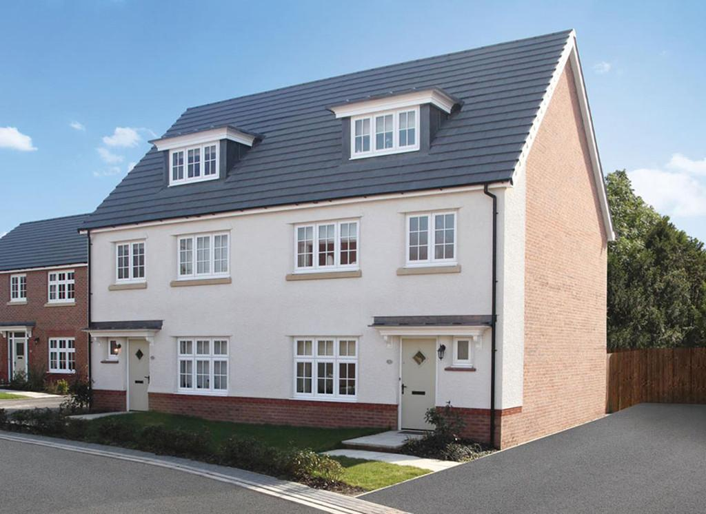4 Bedrooms Semi Detached House for sale in Plot 22, The York, Stanbury Meadows