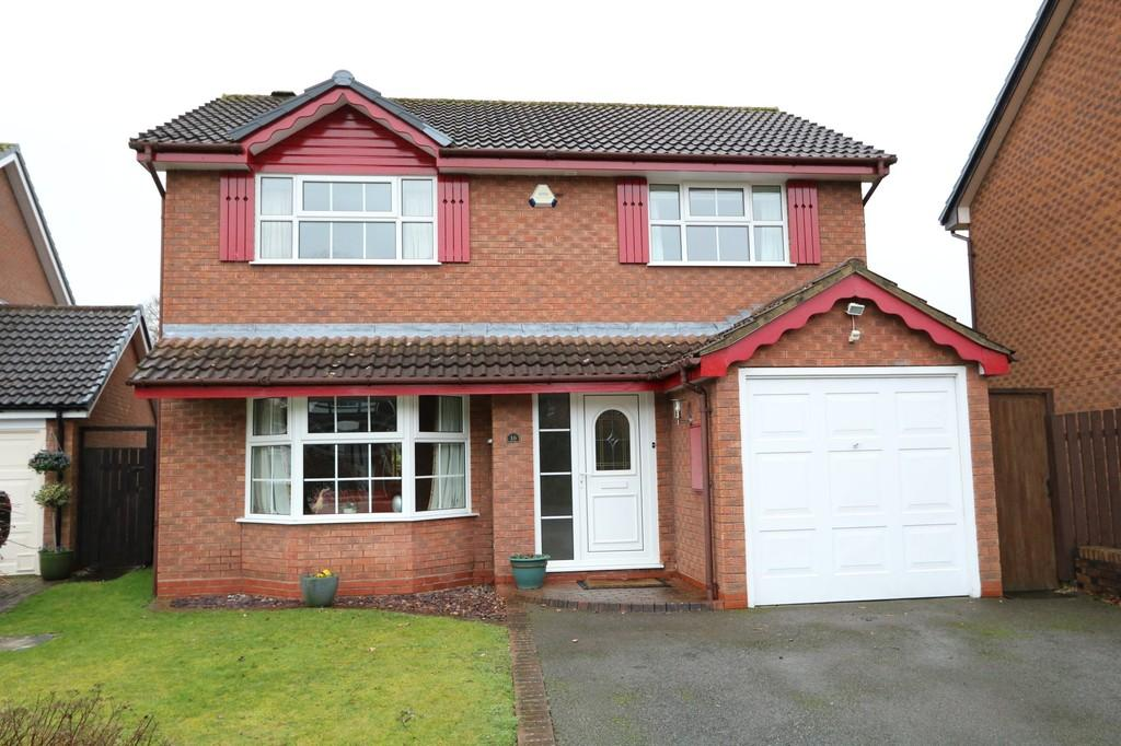 4 Bedrooms Detached House for sale in Blackberry Avenue, Hockley Heath