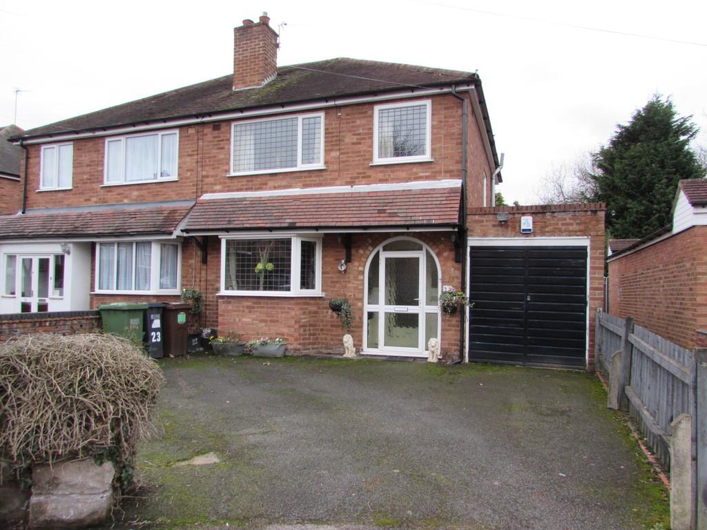 3 Bedrooms Semi Detached House for sale in The Dell, Solihull
