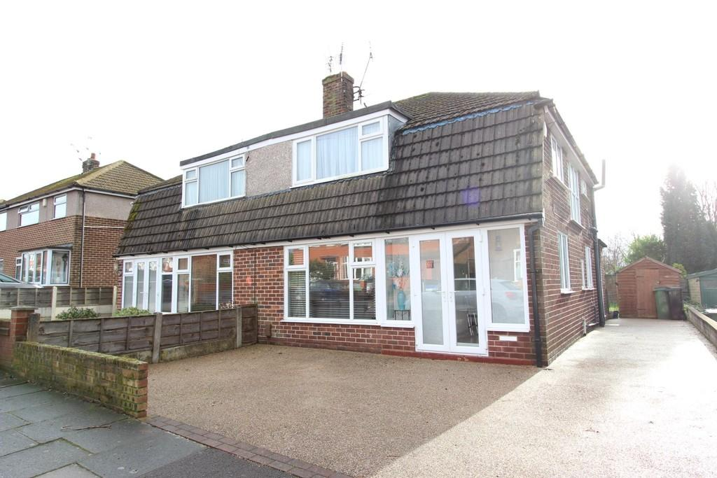 3 Bedrooms Semi Detached House for sale in Bowerfold Lane, Heaton Norris