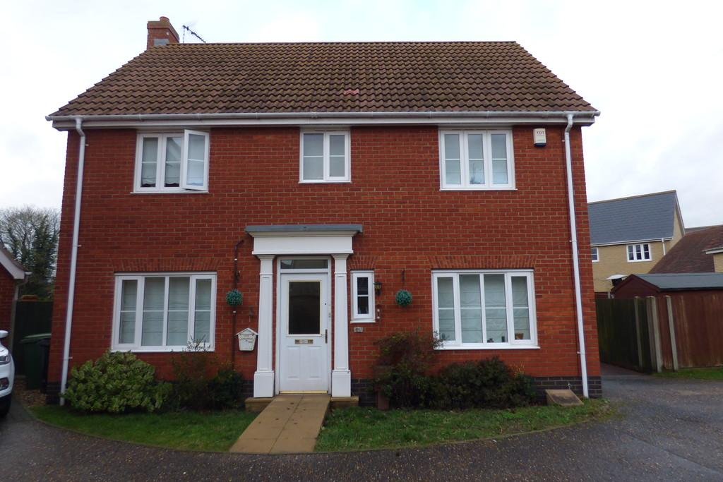 4 Bedrooms Detached House for sale in Viscount Close, Diss
