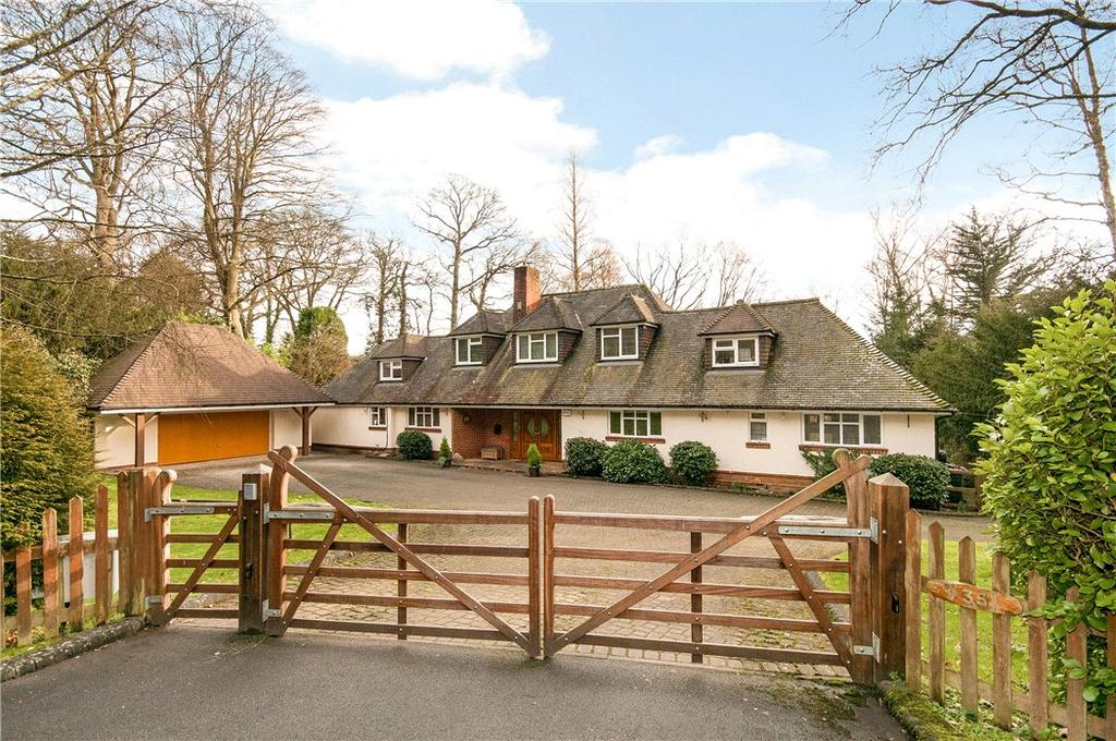 5 Bedrooms Detached House for sale in Straight Mile, Ampfield, Romsey, Hampshire, SO51
