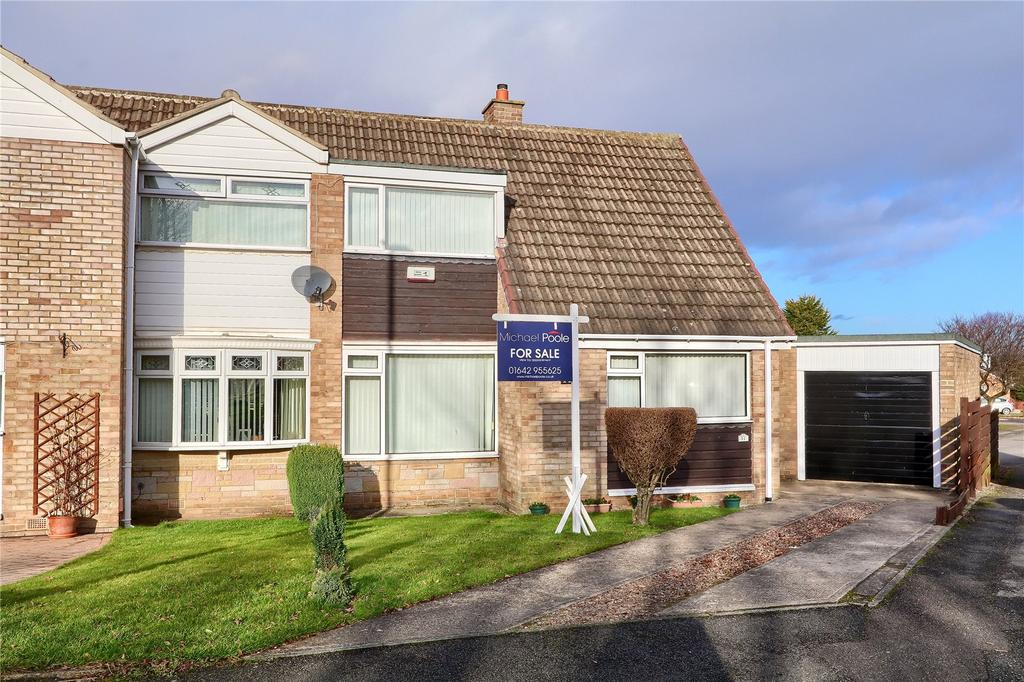 3 Bedrooms Semi Detached House for sale in Weaverthorpe, Nunthorpe