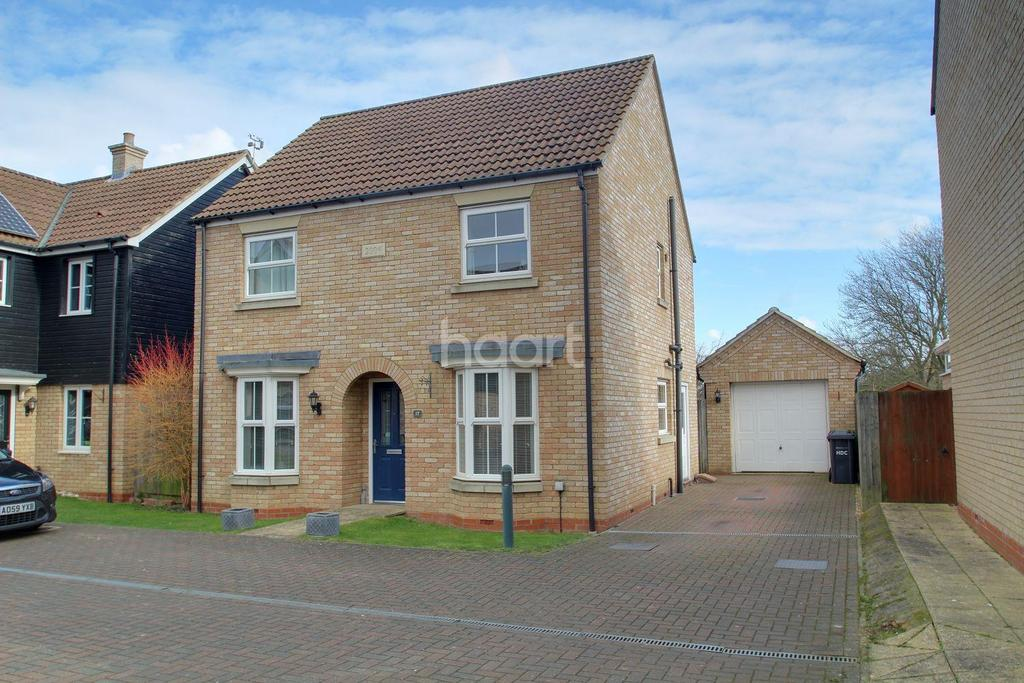 4 Bedrooms Detached House for sale in George Alcock Way, Farcet, Peterborough