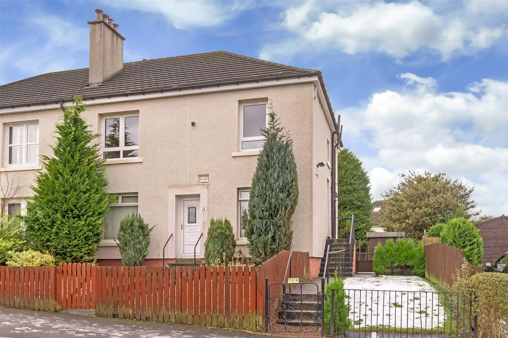 2 Bedrooms Flat for sale in 61 Commore Drive, Knightswood, Glasgow, G13