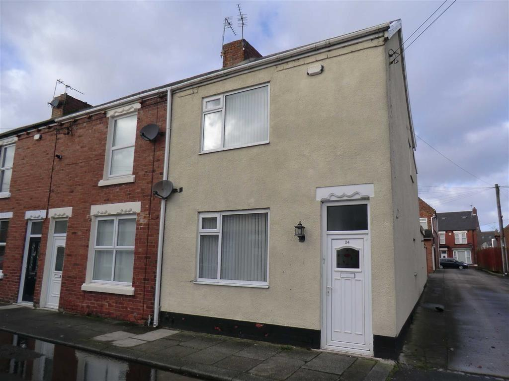 3 Bedrooms End Of Terrace House for sale in 24, Windsor Avenue, Ferryhill