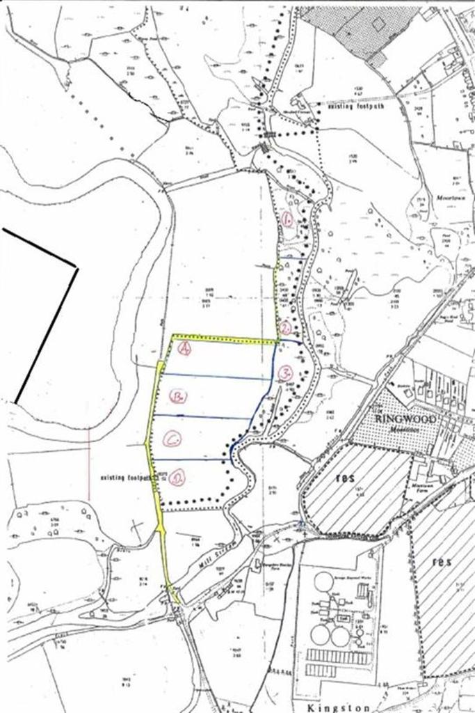 Land Commercial for sale in Hampshire Hatches Lane, Ringwood, Hampshire