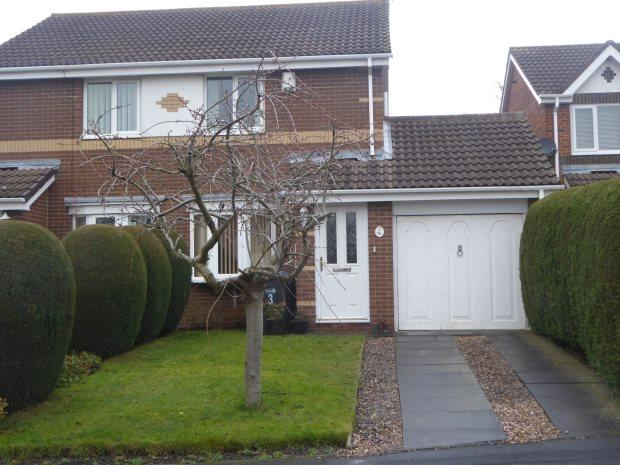 2 Bedrooms Semi Detached House for sale in BOYNE COURT, LANGLEY MOOR, DURHAM CITY : VILLAGES WEST OF