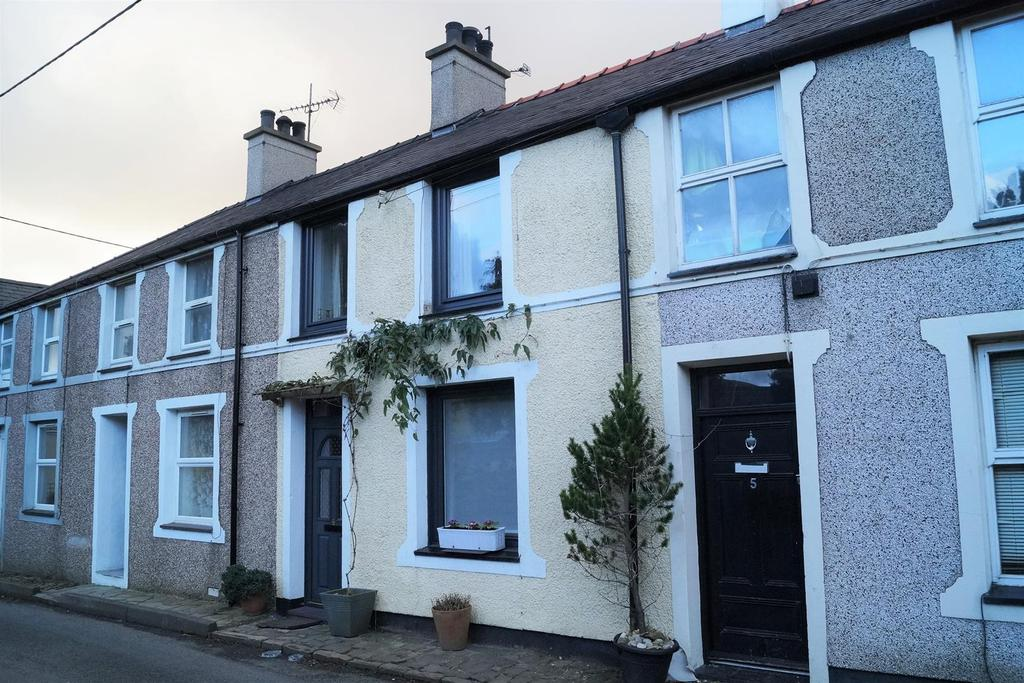 2 Bedrooms Terraced House for sale in Llanaelhaearn, Caernarfon