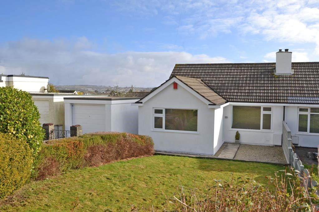 3 Bedrooms Semi Detached Bungalow for sale in Truro, South Cornwall, TR1