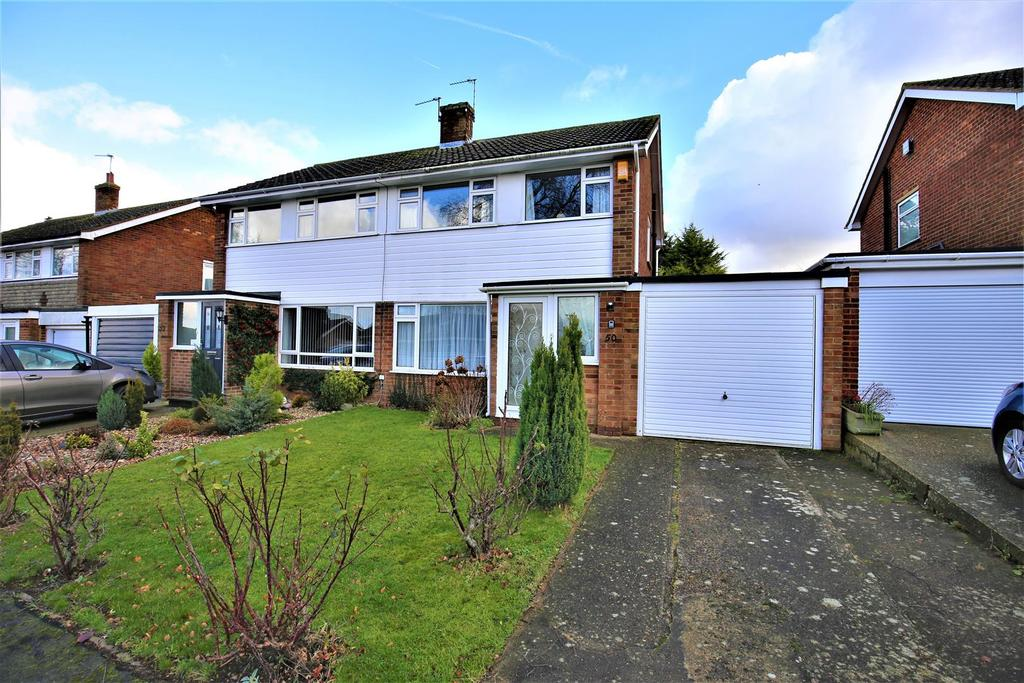 3 Bedrooms Semi Detached House for sale in Broadoak Avenue, Maidstone