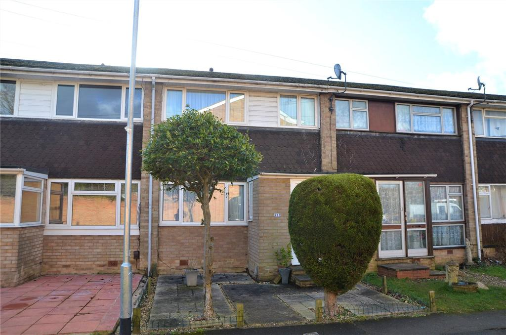 3 Bedrooms Terraced House for sale in Elvaston Way, Tilehurst, Reading, Berkshire, RG30