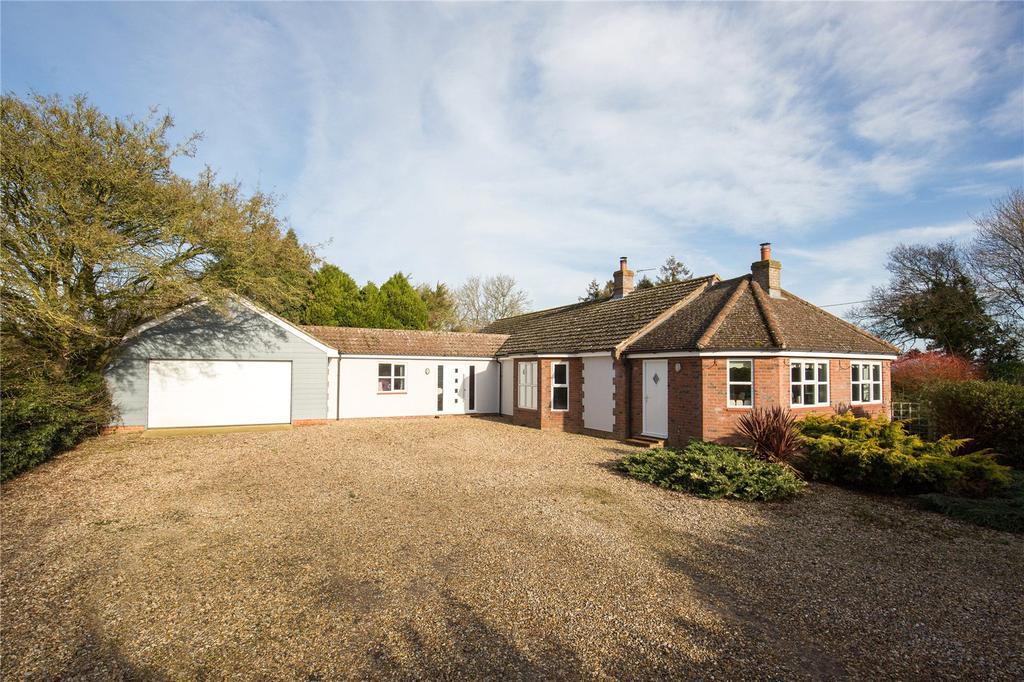 4 Bedrooms Detached Bungalow for sale in Badley Moor, Dereham, Norfolk, NR20