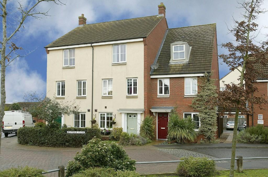 4 Bedrooms Town House for sale in Jentique Close, Dereham
