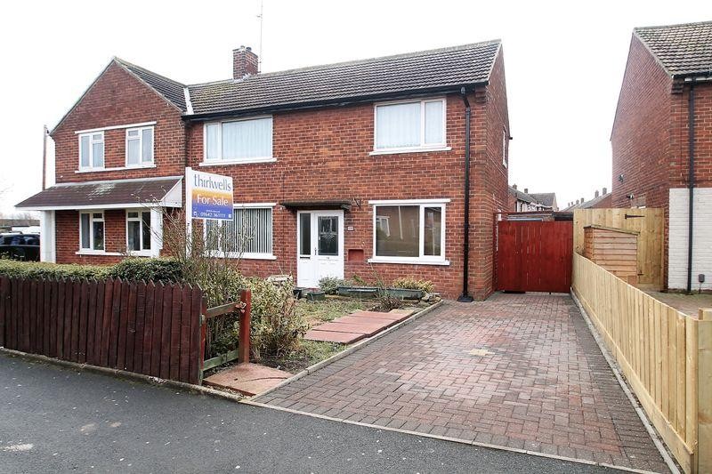 3 Bedrooms Semi Detached House for sale in Hollinside Road, Billingham