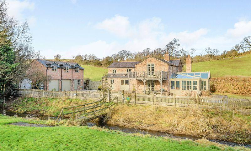 5 Bedrooms Detached House for sale in Higher Wych, Nr. Malpas