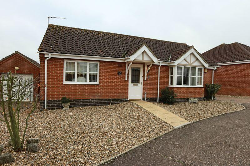 2 Bedrooms Detached Bungalow for sale in John Lawrence Close, Beccles