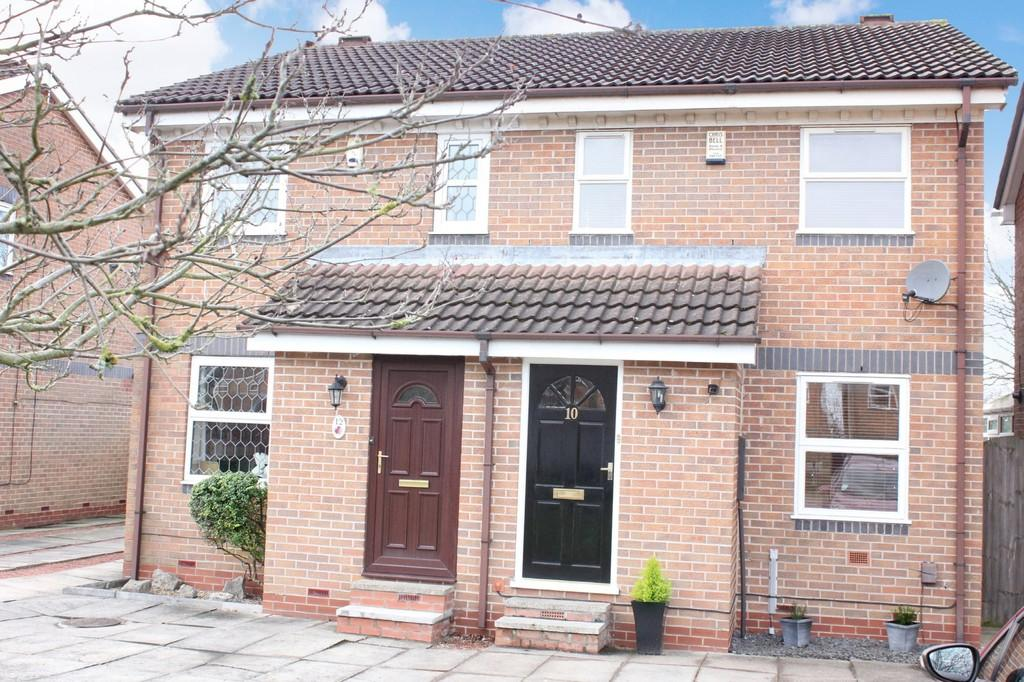 2 Bedrooms Semi Detached House for sale in 10 Minter Close York YO23 3FA