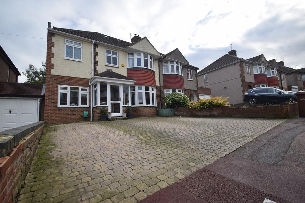 5 Bedrooms Semi Detached House for sale in Allington Drive, Rochester, ME2