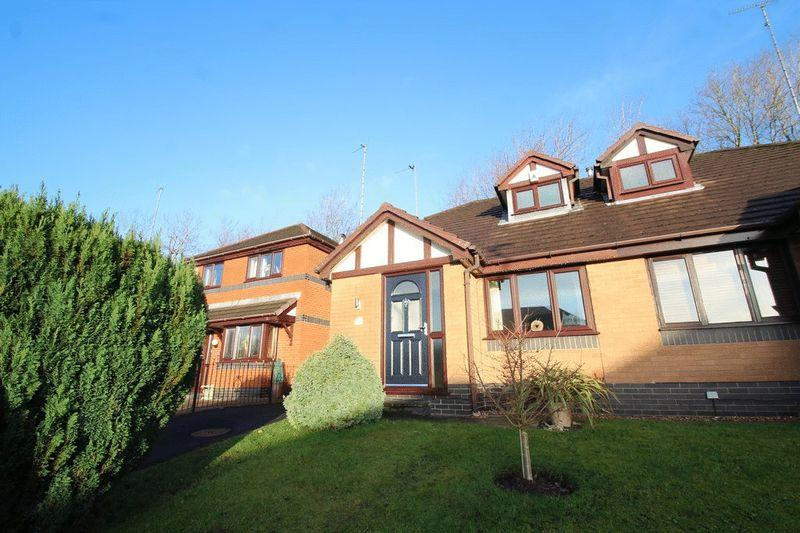 2 Bedrooms Semi Detached House for sale in Harland Way, Norden, Rochdale OL12 7GQ