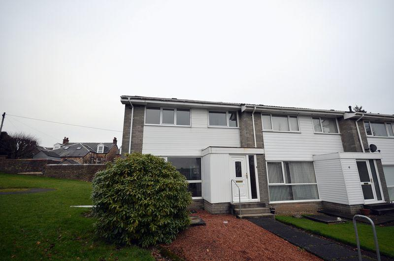 3 Bedrooms End Of Terrace House for sale in 7 Mitchell Court , Kilmarnock , KA1 3DU