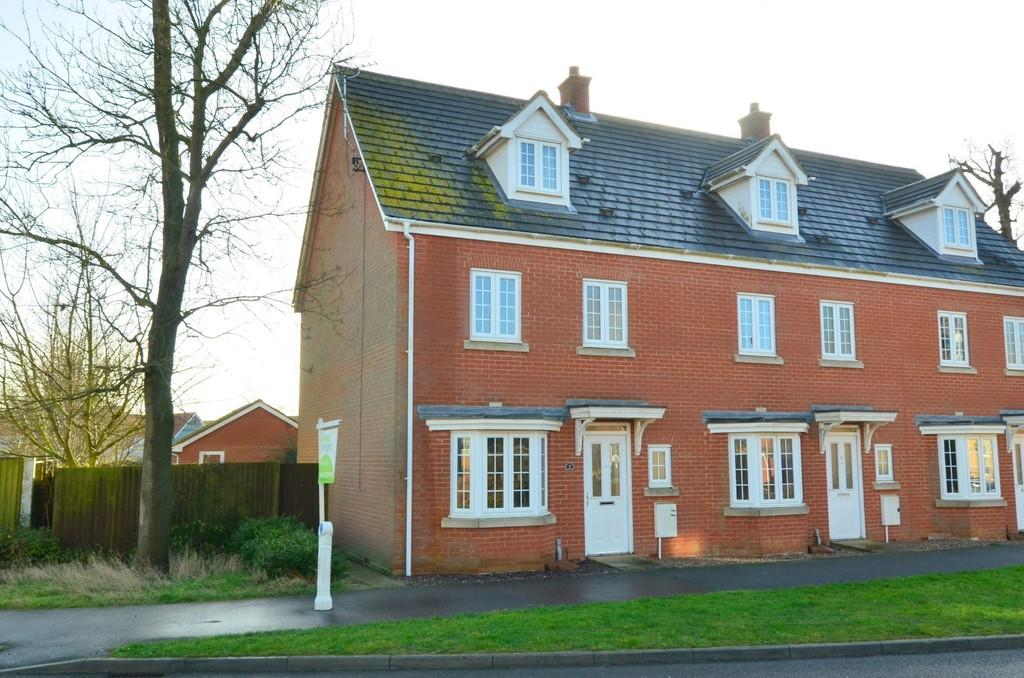 4 Bedrooms End Of Terrace House for sale in Sycamore Drive, Rendlesham, IP12 2GF