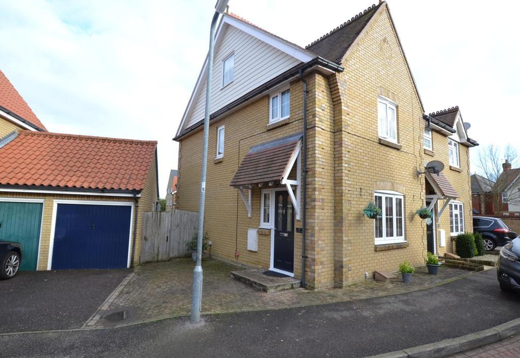 4 Bedrooms Semi Detached House for sale in Bramble Tye, Noak Bridge, Basildon, Essex, SS15