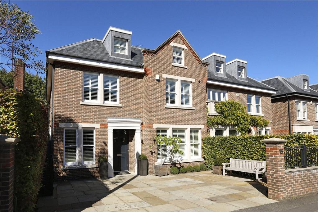 6 Bedrooms Semi Detached House for sale in Lancaster Gardens, Wimbledon Village, London, SW19