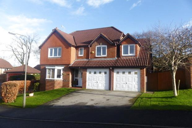 5 Bedrooms Detached House for sale in Clumber Close, Ashbourne, DE6