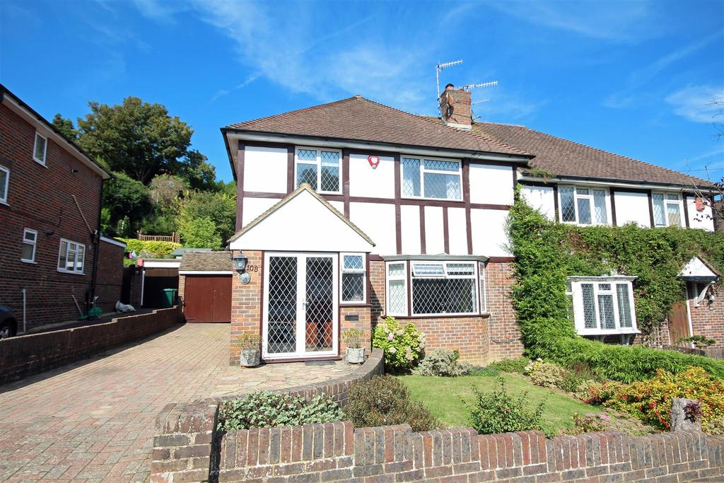 3 Bedrooms Semi Detached House for sale in Valley Drive, Withdean, Brighton
