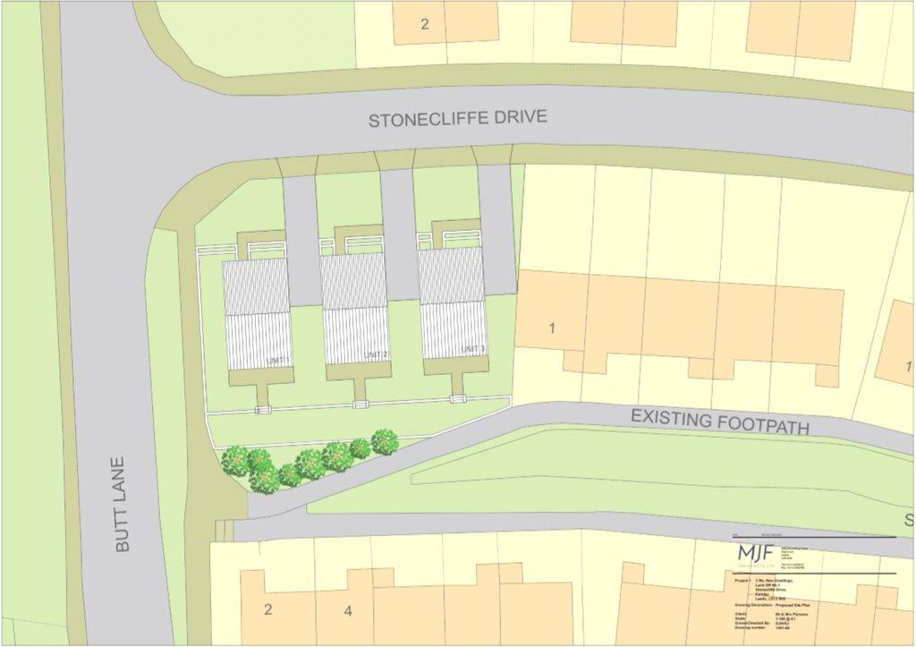 Land Commercial for sale in Land Adj To 1 Stonecliffe Drive, Stonecliffe Drive, Leeds, West Yorkshire