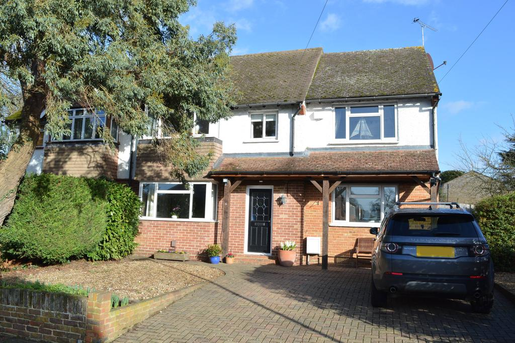 4 Bedrooms Semi Detached House for sale in Vale Road, Weybridge KT13