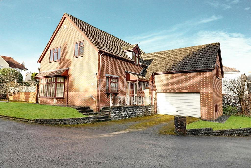 4 Bedrooms Detached House for sale in Mill Road, Lisvane, Cardiff, CF14