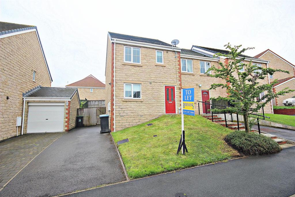 3 Bedrooms End Of Terrace House for sale in Dorset Crescent, Consett