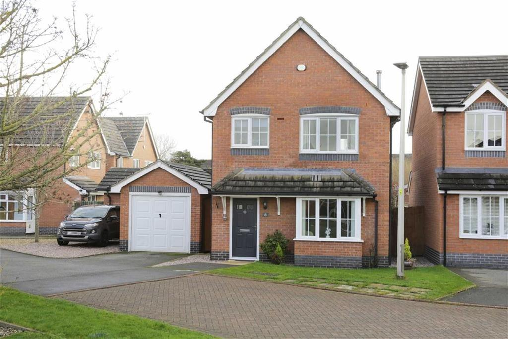 3 Bedrooms Detached House for sale in Garnett Close, Nantwich, Cheshire