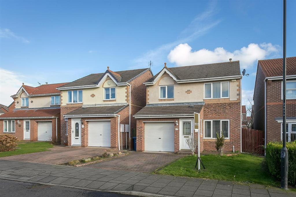 3 Bedrooms Detached House for sale in Ruskin Drive, Newcastle upon Tyne
