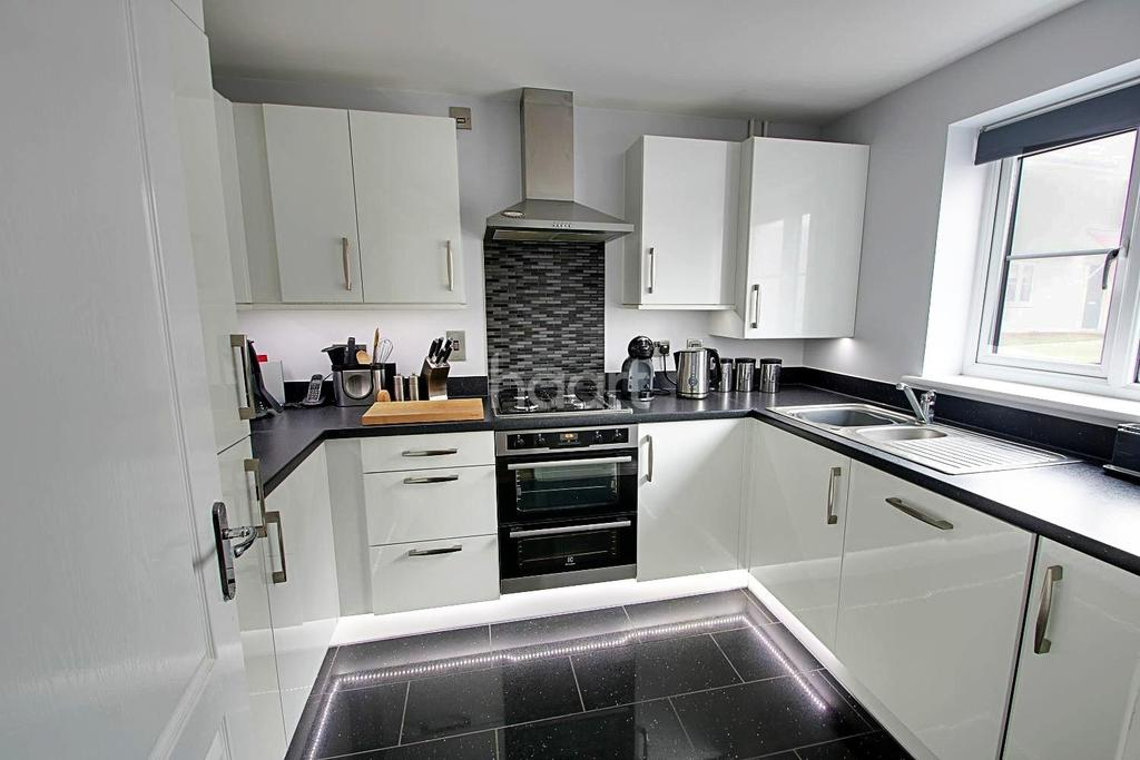 3 Bedrooms Semi Detached House for sale in Gilbert Road, Stanton