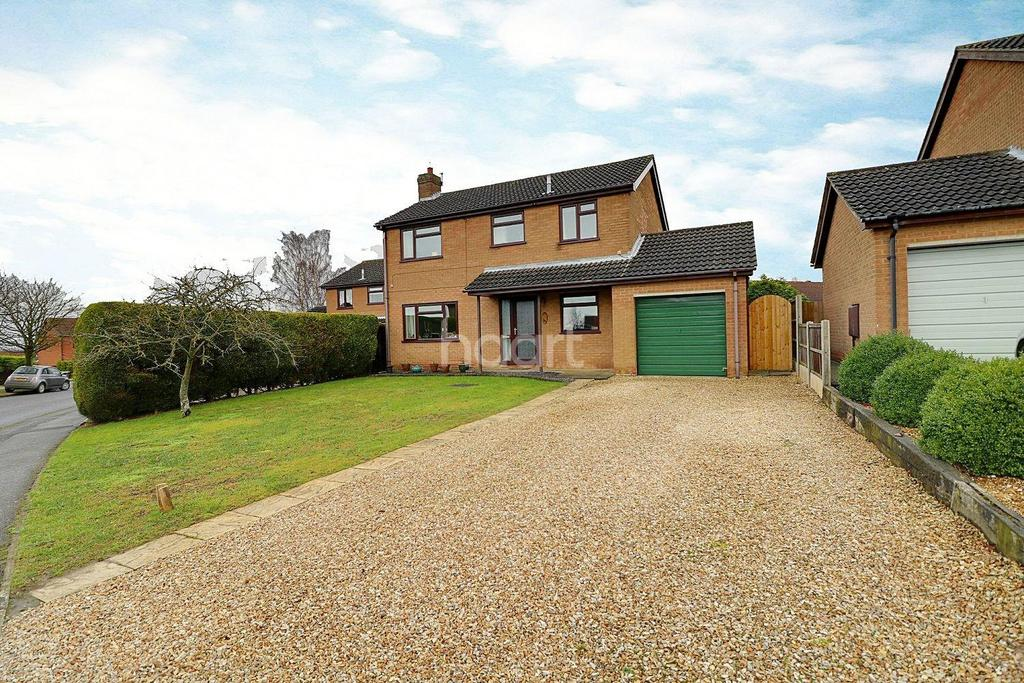 4 Bedrooms Detached House for sale in Beech Road, Branston
