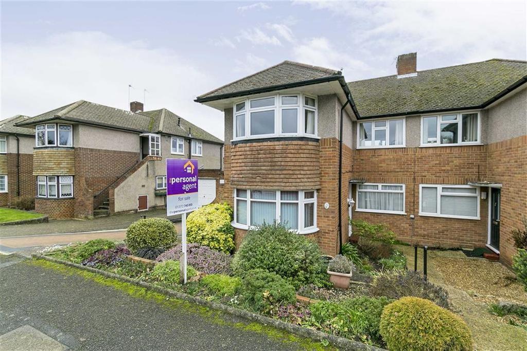 2 Bedrooms Maisonette Flat for sale in Stamford Green Road, Epsom, Surrey