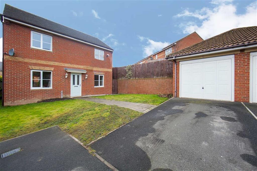 3 Bedrooms Detached House for sale in Haydon Drive, Hadrian Village, Wallsend, NE28