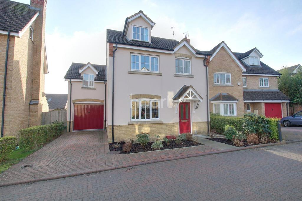 4 Bedrooms Detached House for sale in Cleveland Way, Great Ashby, Stevenage