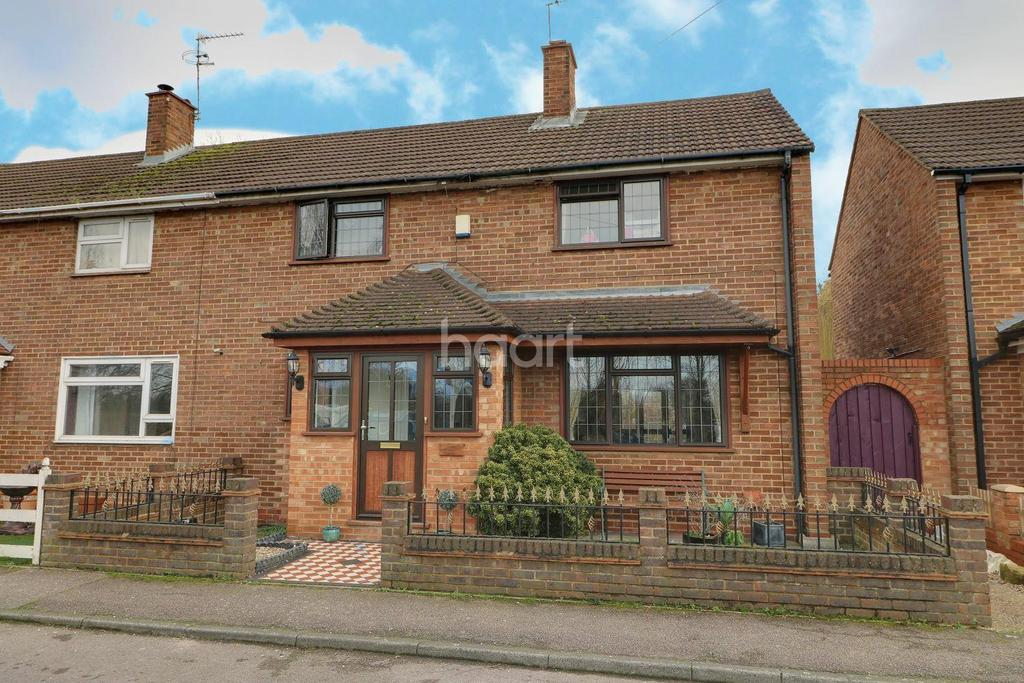 3 Bedrooms Semi Detached House for sale in Government Row, Enfield Island Village, EN3
