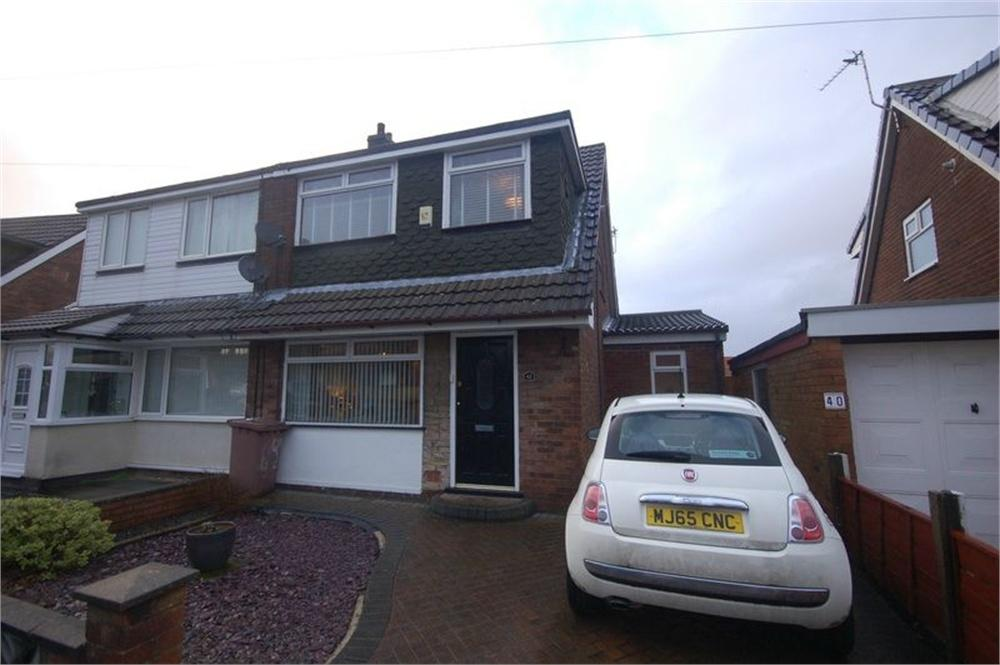 2 Bedrooms Semi Detached House for sale in Balmoral Avenue, Sutton Park, ST HELENS, Merseyside