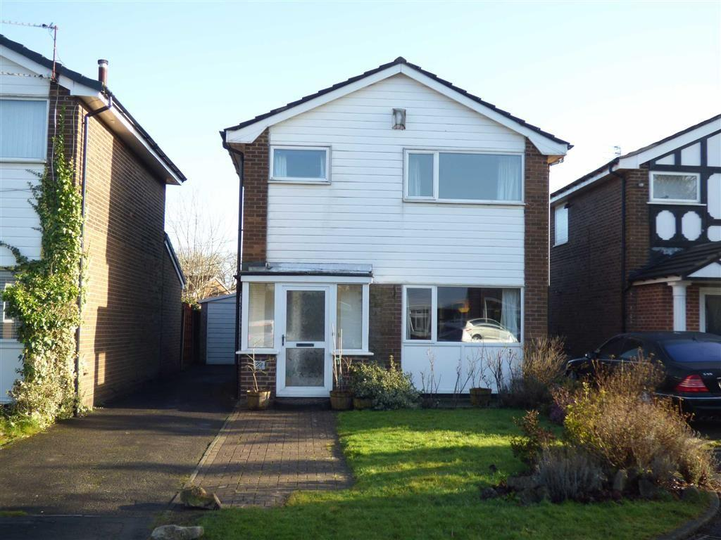 3 Bedrooms Detached House for sale in Ledge Ley, Cheadle Hulme, Cheshire