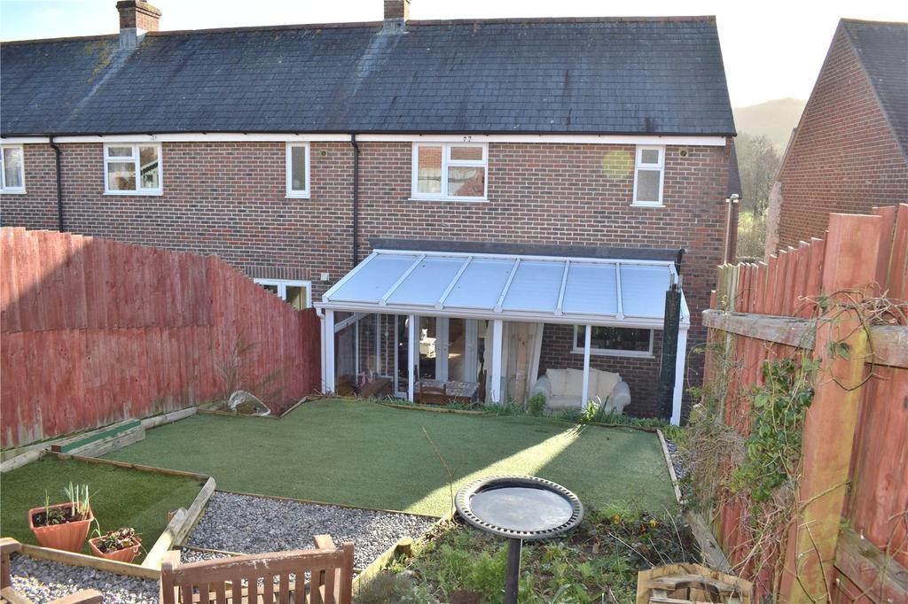 2 Bedrooms End Of Terrace House for sale in Howard Road, Bothenhampton, Bridport, Dorset